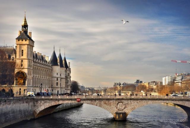 Bridge over the river Seine in Paris