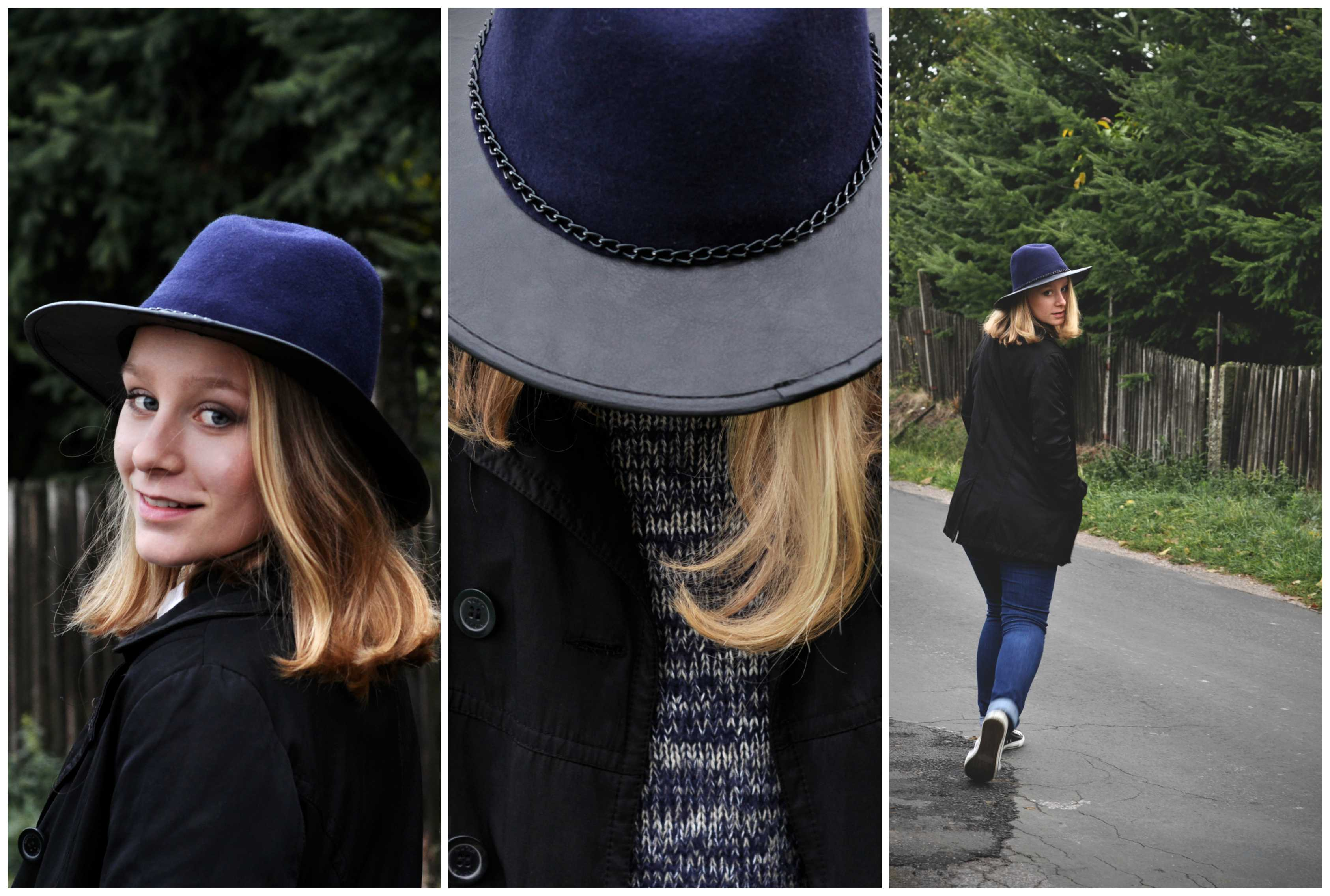 Fashion photoshooting - girl wit the hat
